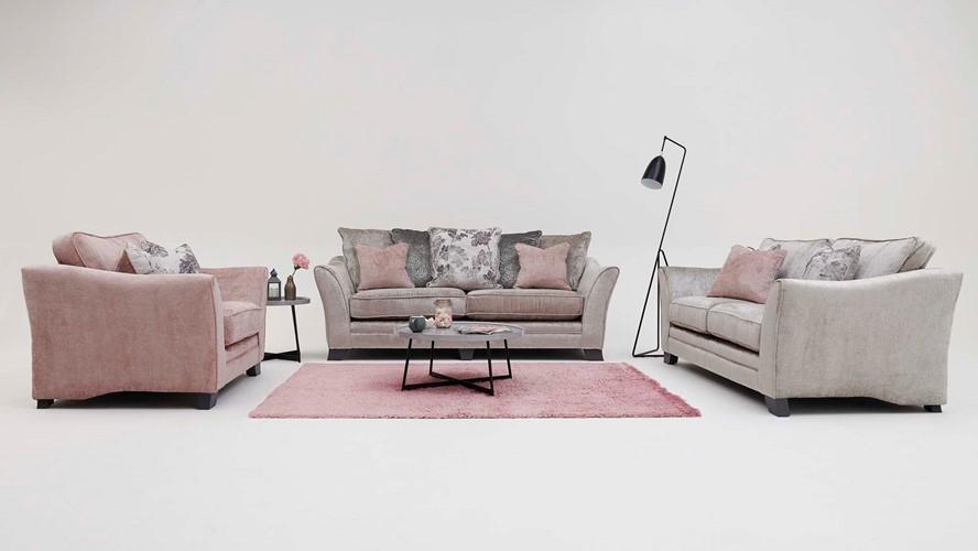 Lauren 3 Seater Sofa