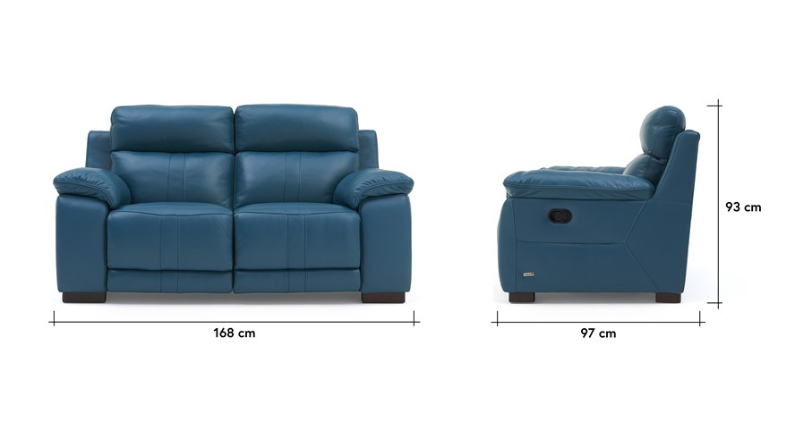 Lawrence 2 Seater Recliner Sofa