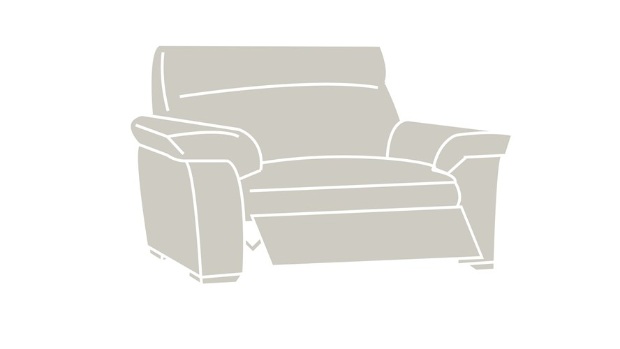 Natuzzi Editions Livorno 1.5 Seater Power Recliner Sofa