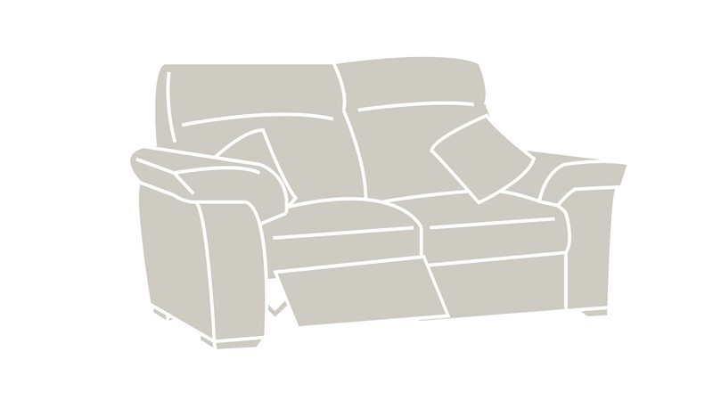 Natuzzi Editions Livorno Power Recliner Sofa