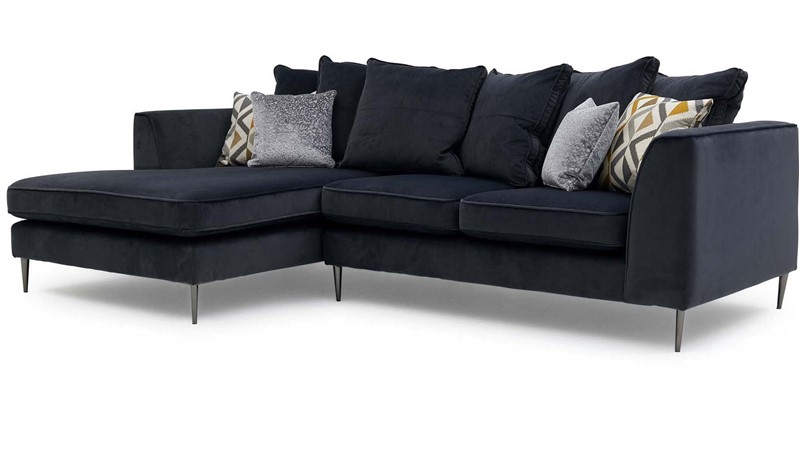 Luna Small Pillow Back Left Chaise  Sofa