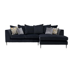 Luna Small Pillow Back Right Chaise Sofa