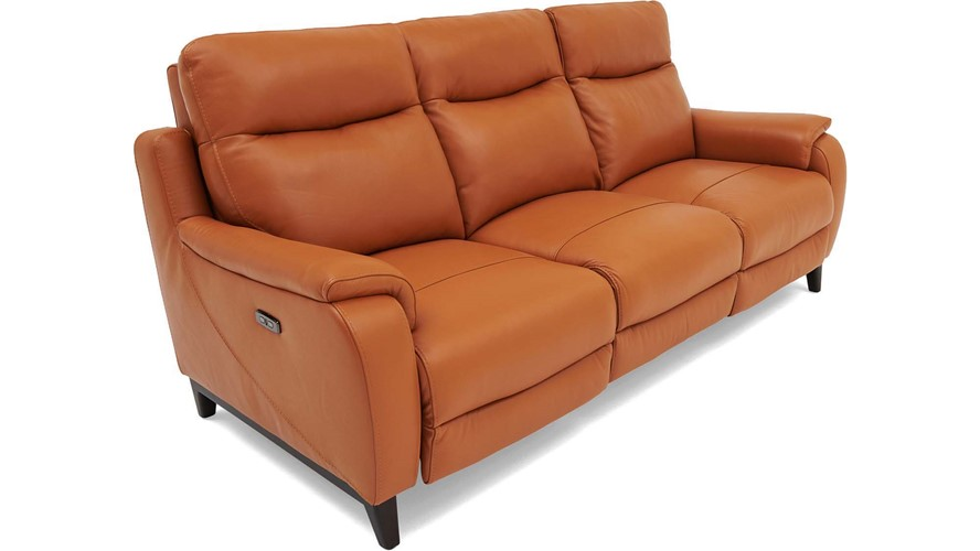Lundy 3 Seater Power Recliner with Power Headrests