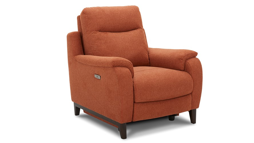Lundy Power Recliner Armchair with Power Headrest