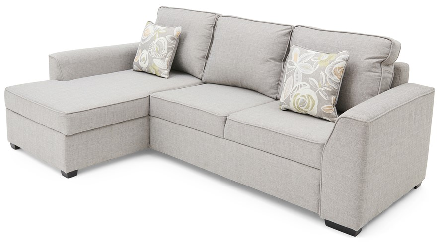 Maddox Corner Sofa Bed Chaise Right