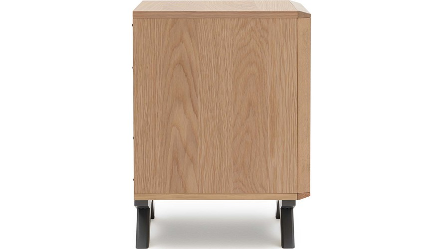 Malmo 2 Drawer Bedside Chest