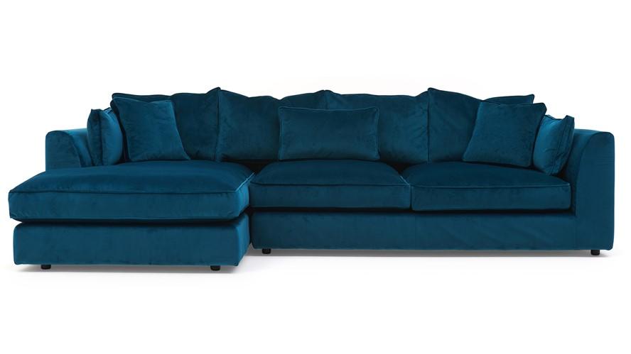 Teal Corner Sofa Dfs Teal Corner Sofa And Cuddle Chair In