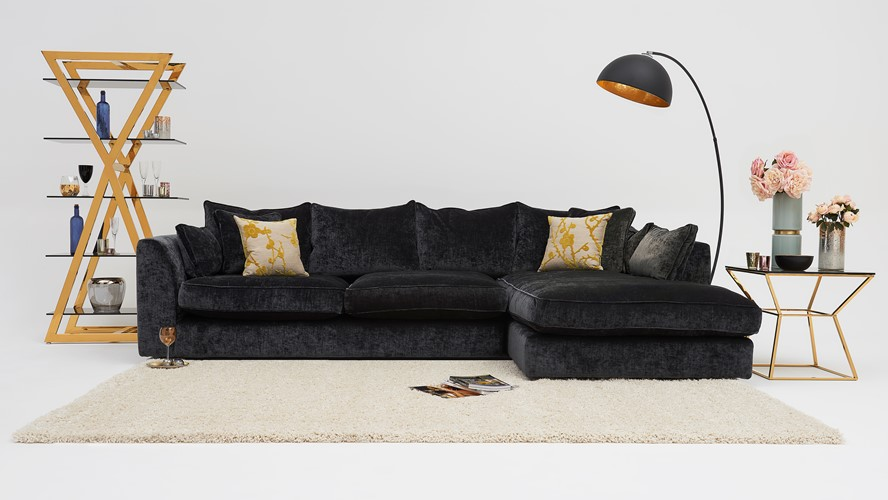 Maxine  Corner Sofa Chaise Right