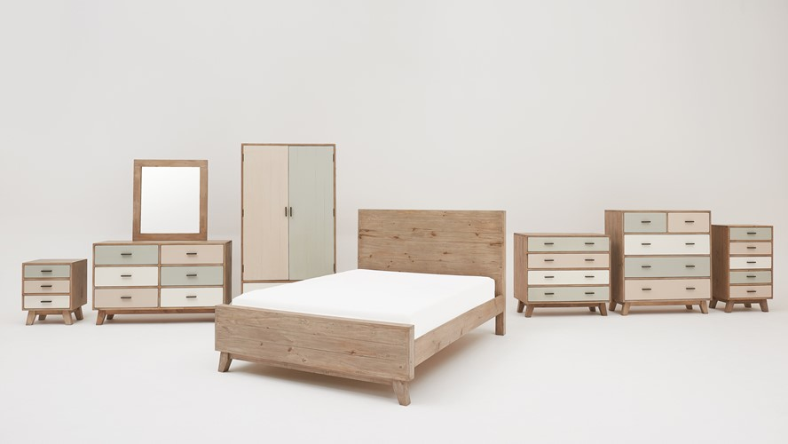 Milo Bedroom Package With Bed