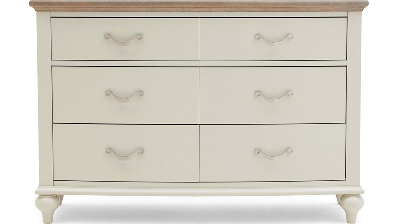 New Brunswick 6 Drawer Wide Chest