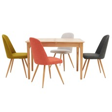 Newbury 120cm Table & 4 Karl Chairs