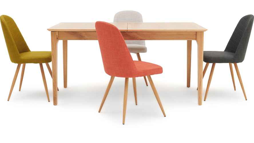 Newbury 160cm Table & 4 Karl Chairs