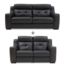 Niro 3 Seater & 2 Seater Manual Recliner Sofa Set