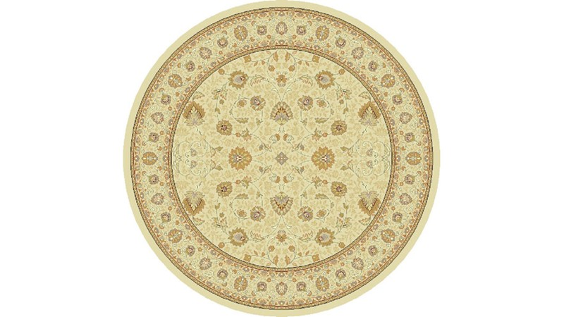 Noble Art Circular Rug - 6529-190