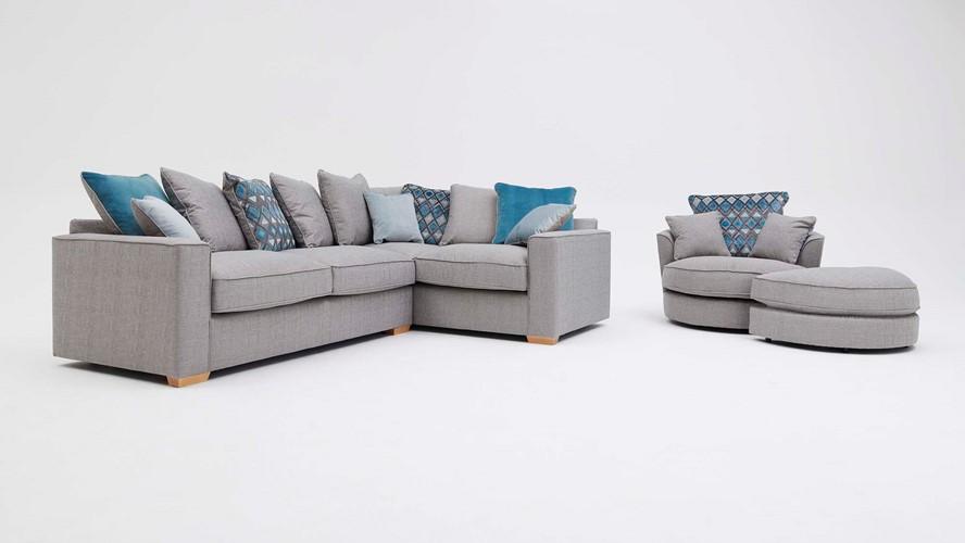Novel Corner Sofa