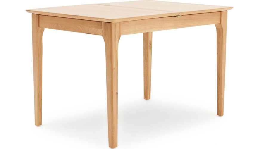 Newbury 120cm Butterfly Extending Dining Table