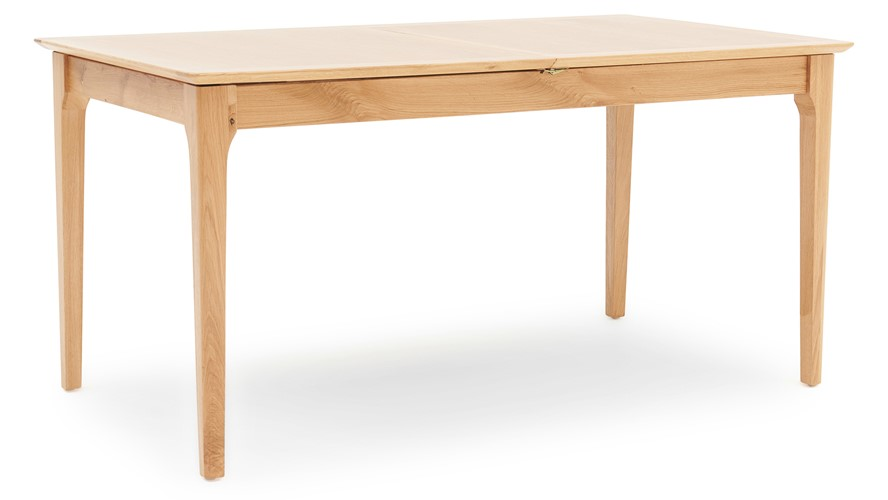Newbury 160cm Butterfly Extending Dining Table