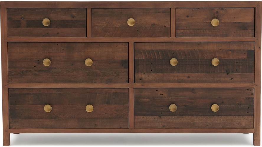 Detroit 7 Drawer Wide Chest Sterling Furniture