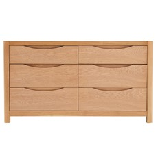 Olsen 6 Drawer Wide Chest