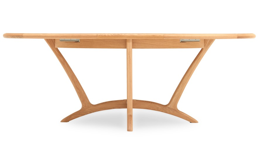 Olsen Oval Table & 4 Wooden Chairs