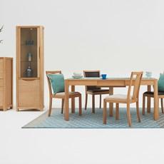 Olsen Rectangular Table & 4 Wooden Chairs