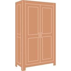 Halo Hampshire 2 Door Wardrobe