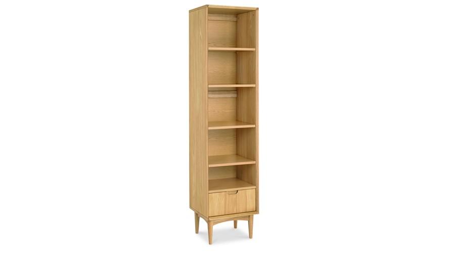 Carter Oak Narrow Bookcase