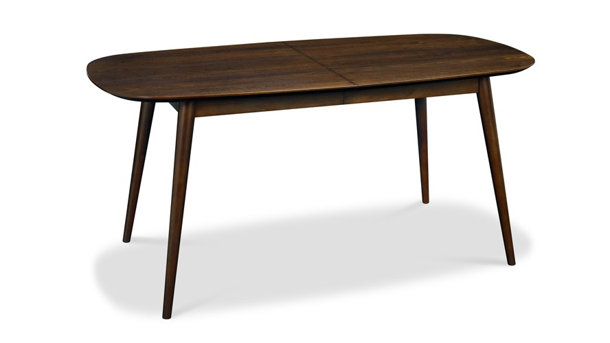 Carter Walnut Extending Dining Table Sterling Furniture