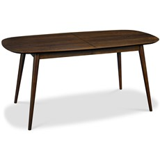Carter Walnut Extending Dining Table