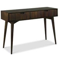 Carter Oak Console Table with Drawers