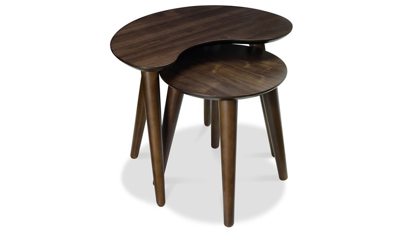 Carter Walnut Nest of Tables