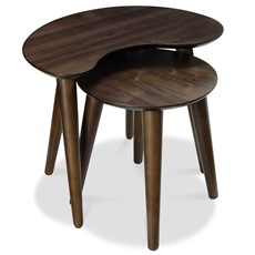 Carter Walnut Nest of Tables