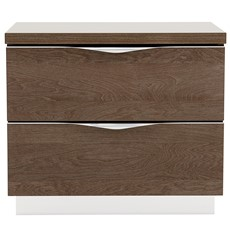 Platinum Mini Bedside Chest