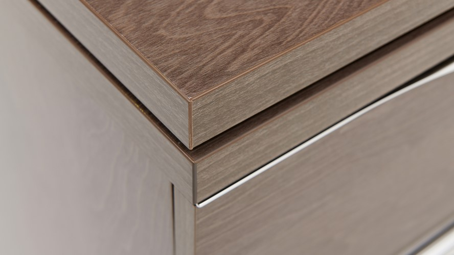 Platinum Dressing Table