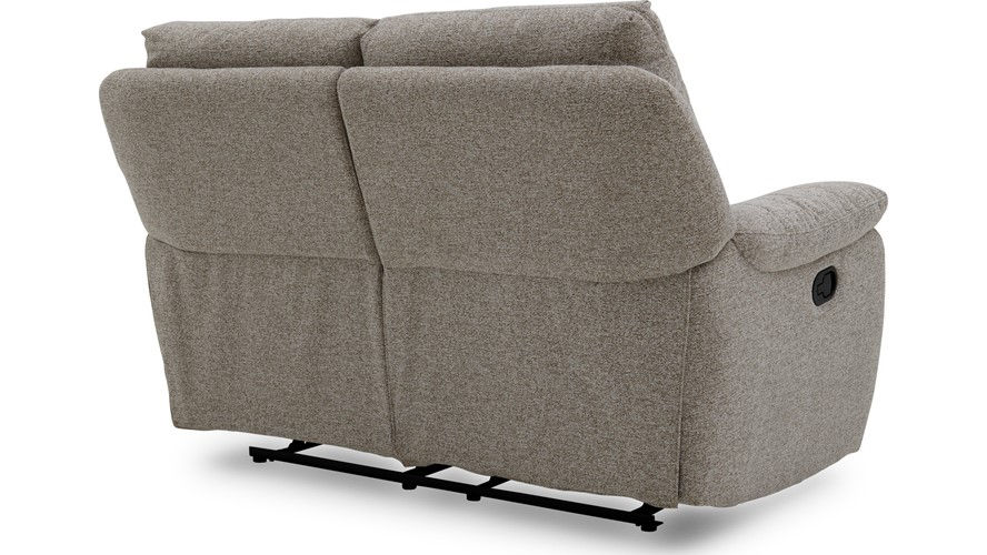 Poise 2 Seater Recliner Sofa - Fabric