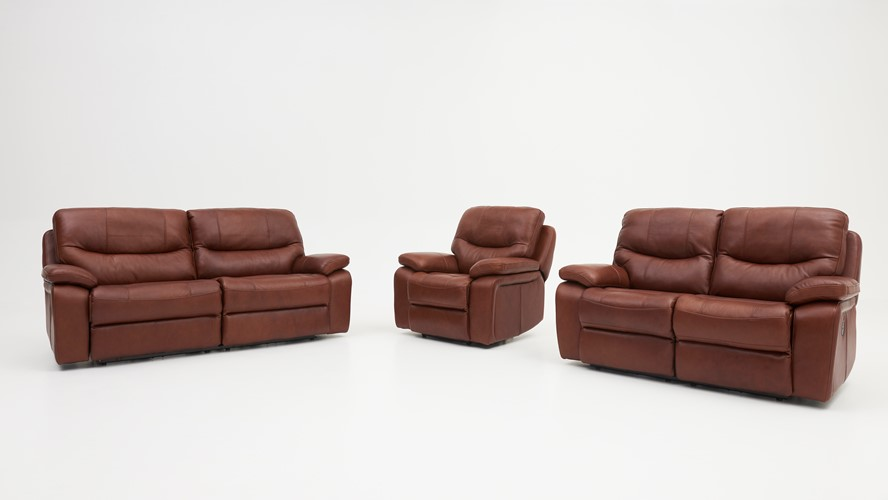 Loreto 2.5 Seater Recliner Sofa