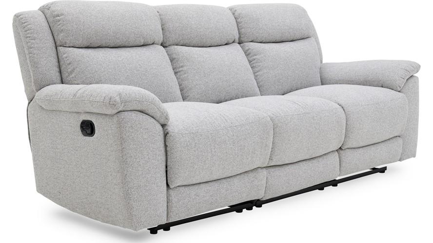 Repose 3 Seater Recliner Sofa - Fabric | Sterling Furniture