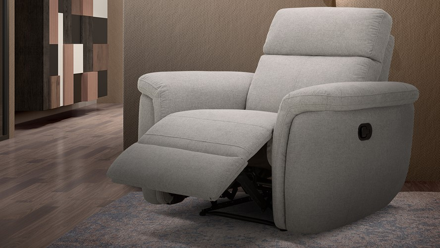 Sark Power Recliner Armchair with Power Headrests