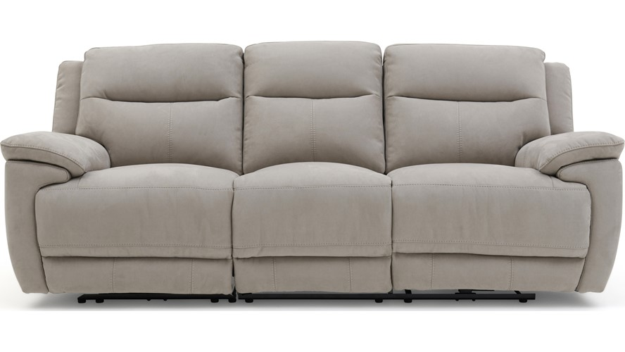 Fabulous Serenity 3 Seater Recliner Sofa Fabric Sterling Furniture Dailytribune Chair Design For Home Dailytribuneorg
