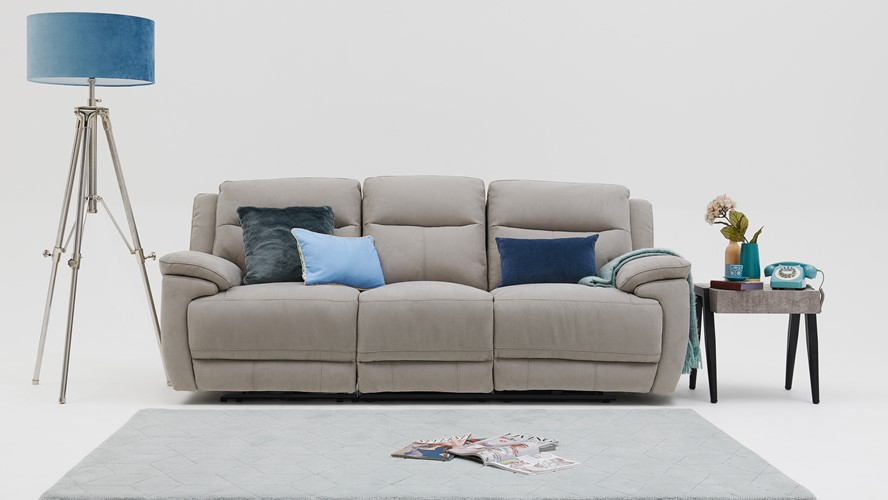 Serenity 3 Seater Power Recliner Sofa