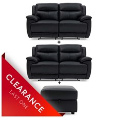 Ex-display Serenity 2 Seater, 2 Seater & Footstool