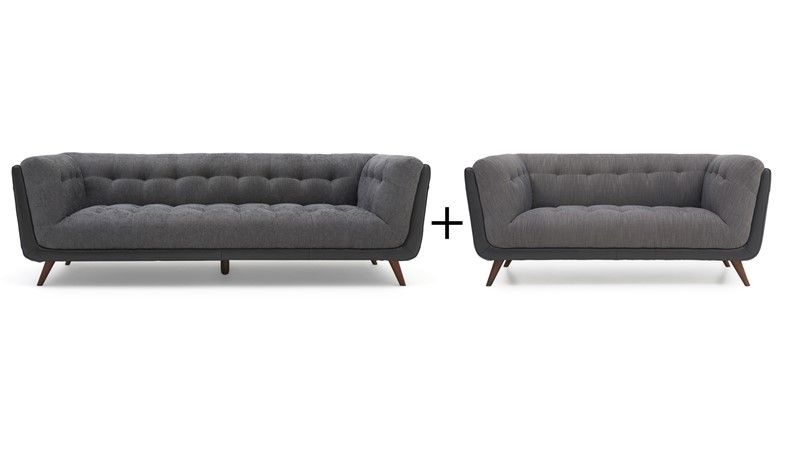 Siena Large Sofa & Small Sofa Set