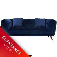 Ex-display Siena Large Velvet Sofa