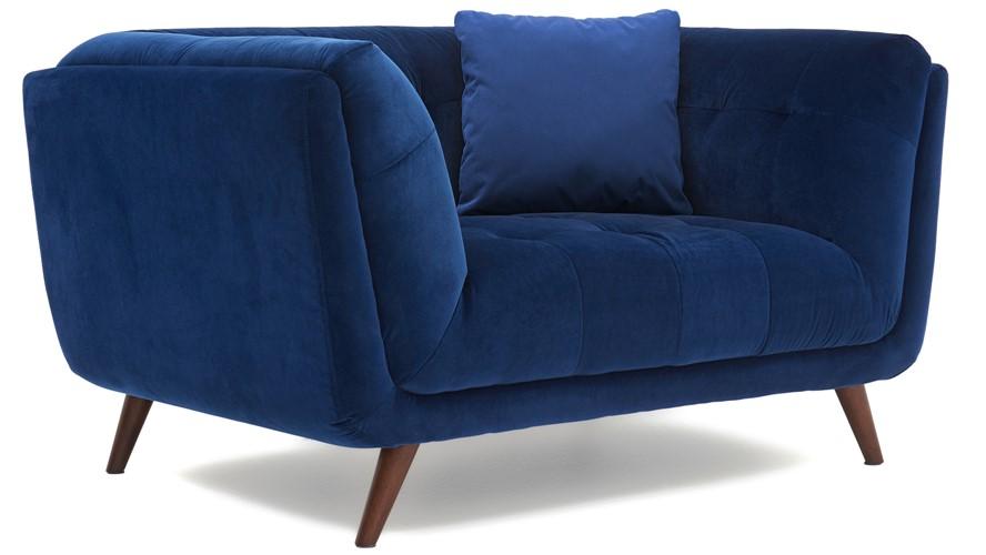 Siena Velvet Compact Sofa