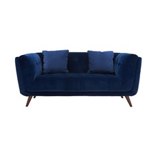 Siena Velvet Small Sofa
