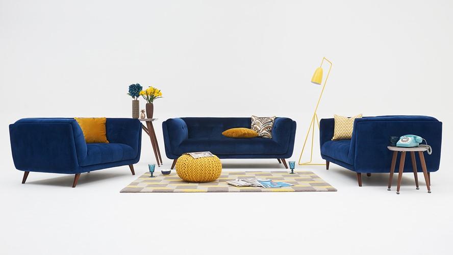 Siena Velvet Armchair