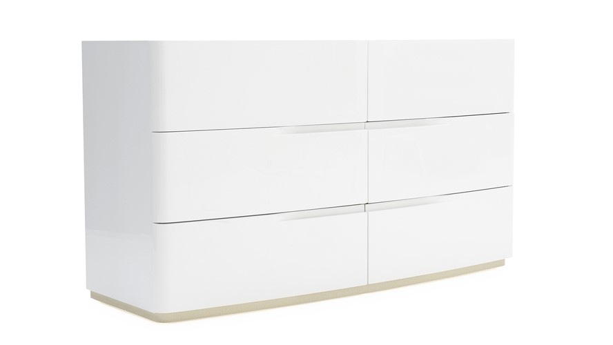 Sigma Glass Top for 6 Drawer Chest