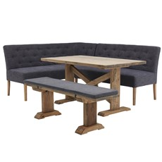 Siren Dining Table Bench Hydra Corner Set