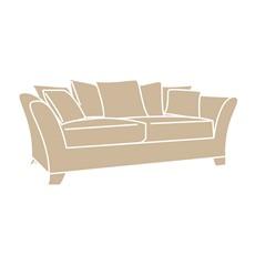 Stamford 3 Seater Pillow Back Sofa