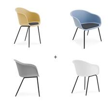 4 Blake Dining Chairs